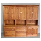 STICKLEY Audi. Signed Large Bookcase / Cabinet /