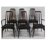 MIDCENTURY. Set of 6 Niels Koefed Dining Chairs.