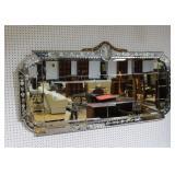 Art Deco Venetian Style Mirror .