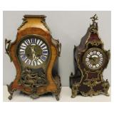 An Antique Leroy & Fils Clock Together With