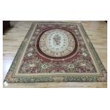 Vintage Roomsize Audubusson Carpet .