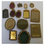 Lot Of Assorted Quality Bronze Frames, Some Signed