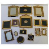 Lot Of Vintage And Quality Gilt Metal Frames.