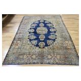 Antique And finely Hand Woven Roomsize Kerman