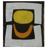 FOON, Kim. Oil on Canvas. Abstract Composition