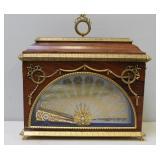 FABERGE, Imperial Fan Clock.