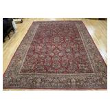 Large Antique And Finely Woven Sarouk Carpet