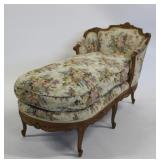 Antique Finely Carved and Down Filled Louis XV