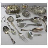 STERLING. Assorted Silver Table Accessories and