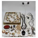 JEWELRY. Assorted Gold, Silver, and Decorative