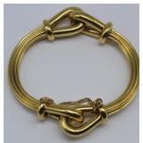 JEWELRY. Italian 18kt gold Bracelet.