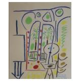 PICASSO, Pablo. Signed and Numbered Print.