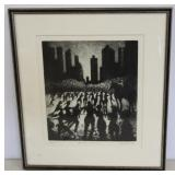 Bill Jacklin. Signed And Numbered Print