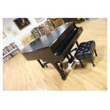 Steinway And Sons Ebonised Model O Serial # 239630