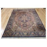 Vintage Heriz Style Carpet.