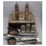 SILVER. Assorted English and French Silver