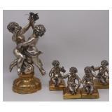 Luigi Avolio (Italy, 20th C) .800 Silver Figural