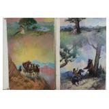 Jerome Podwil (American .born 1938)2 Illustrations