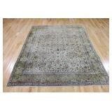 Antique And Finely Woven Kerman Carpet