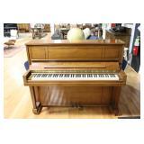 Steinway And Sons Mahogany Upright Piano