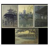 YOSHIDA, Hiroshi (Japanese, 1876-1950), together