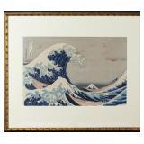 The Great Wave Off Kanagawa, After Hokusai.