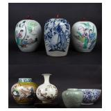 Grouping of 20th Century Porcelain.