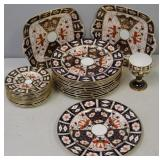 Lot Of Royal Crown Derby Imari Porcelain
