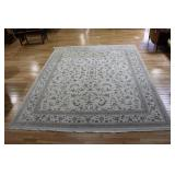 Vintage And Finely Hand Woven Roomsize Carpet