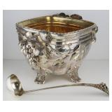 STERLING. Late 19th C Gorham Sterling Punch Bowl &