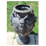 Vintage Large And Quality Bronze Urn