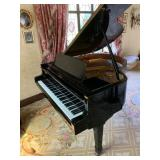 Weinbach Ebonised Grand Piano.