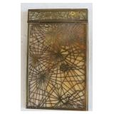 Tiffany Studios Pine Needle Pattern Notepad