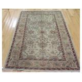 Vintage And finely Hand Woven Sultan Area Carpet .