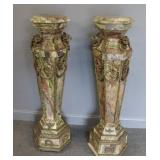 Vintage And Fine Quality Pair Of Bronze Mounted