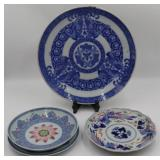 Chinese and Japanese Porcelain Grouping.