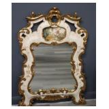 Vintage Venetian Paint and Gilt Decorated