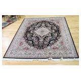 Vintage and Finely Hand Woven Roomsize Carpet.