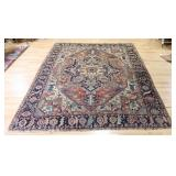 Antique And Finely Hand Woven Serapi ? Carpet