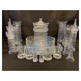 WILLIAM YEOWARD CRYSTAL LTD EDITION CAMELOT CASTLE