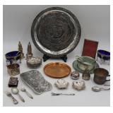 SILVER. Assorted Sterling and Decorative Items.