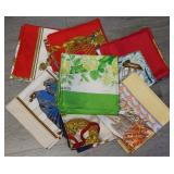 COUTURE. (7) Hermes Silk Scarves.