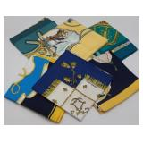 COUTURE. (6) Hermes Silk Scarves.