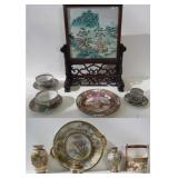 Japanese and Chinese Porcelain Grouping