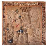 Large 17th Century Historial Flemish Tapestry.