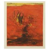 ZAO WOU-KI. Color Aquatint. Untitled, 1965.