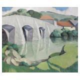 PODRYSKI, Misha. Oil on Canvas. Landscape with