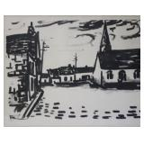 VLAMINCK, Maurice (Attributed). Lithograph.