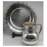 STERLING. Tiffany & Co. Wave Edge Hollow Ware.