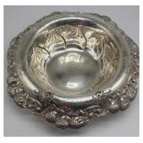 STERLING. Tiffany & Co Sterling Clover Bowl.